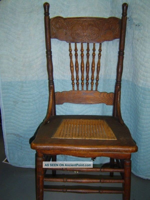 Pine Spindle Back Chairs