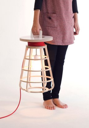 Portable luminaire table lamp