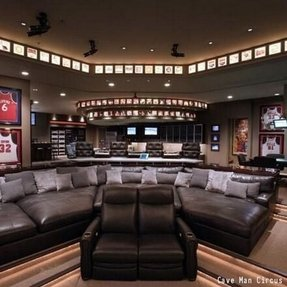 Recliner theater seating 10