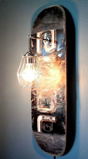 Skateboard Lamp Ideas On Foter