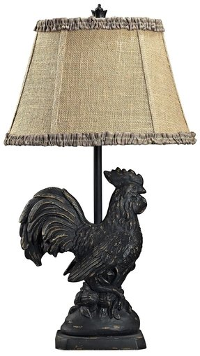 Rooster table lamp 4