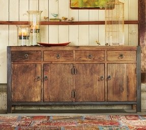 Rustic buffets and sideboards