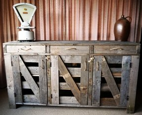 Rustic sideboards and buffets 23