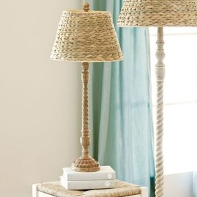 Seagrass lamp shade foter seagrass lamp shade 6 aloadofball Images
