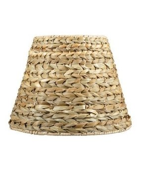 Seagrass lamp shade