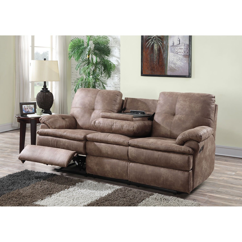 Superbe Small Reclining Sofa   Foter