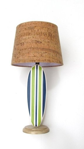 Surfboard lamp 28