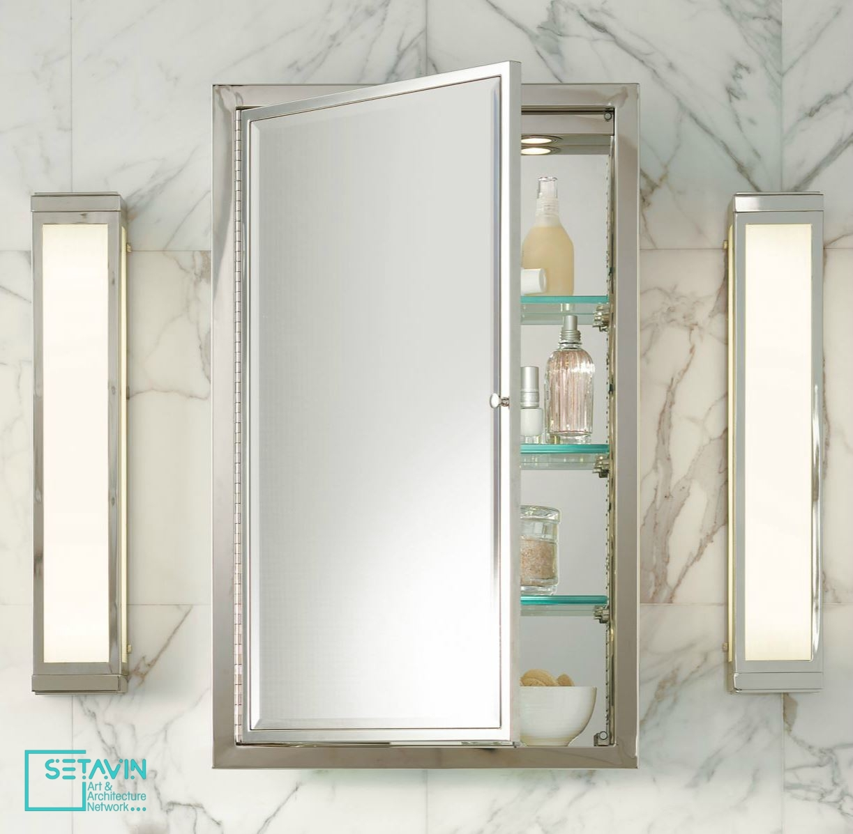 Genial Tall Recessed Medicine Cabinet