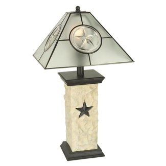 Texas star lamp 3