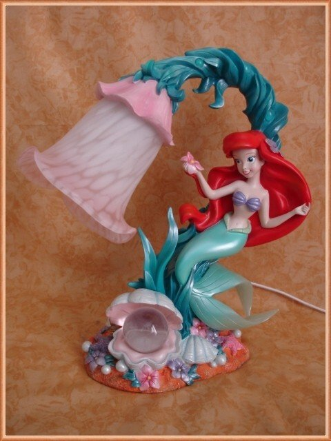 The Little Mermaid Lamp