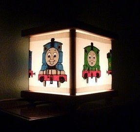 Thomas the train lamp lantern night
