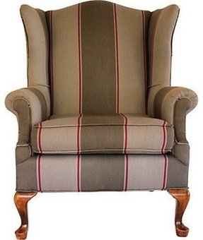 Traditional wing chairs