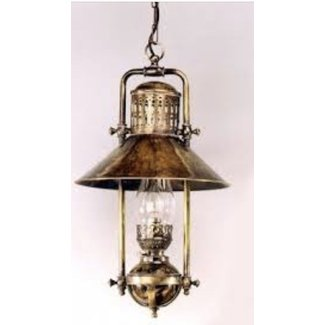 Wall mounted oil lamps