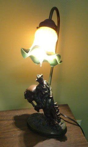 Western Horse Table Lamp 2