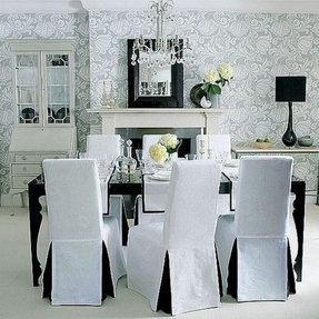 Pleasant Modern Dining Chair Covers Ideas On Foter Download Free Architecture Designs Madebymaigaardcom