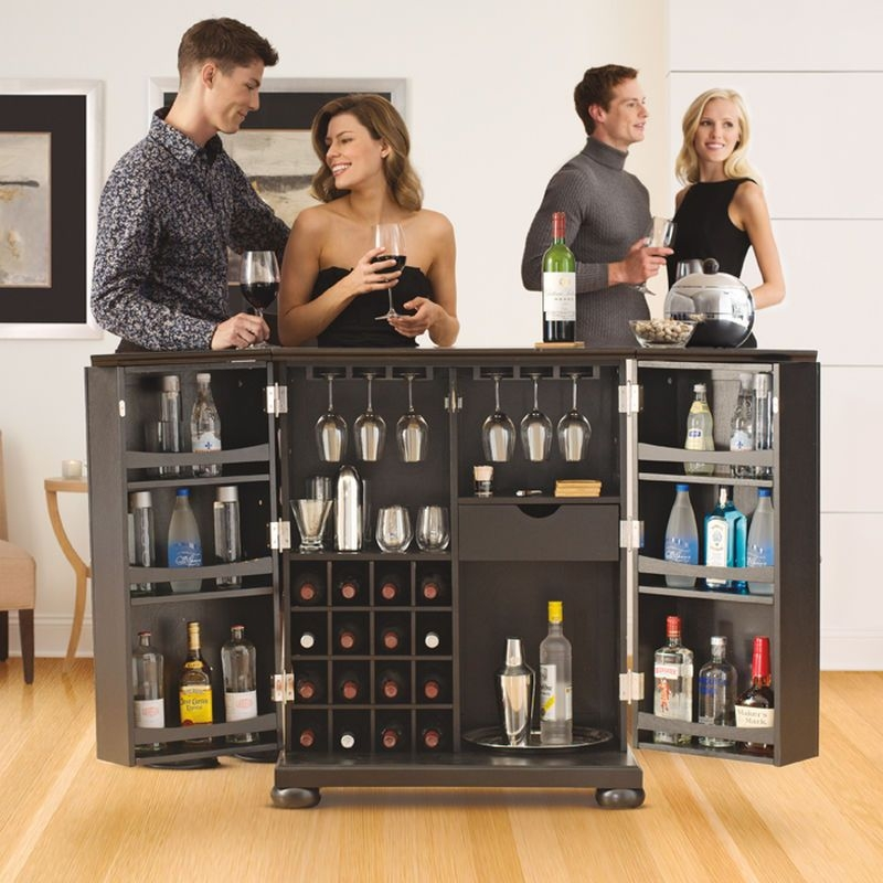 Charmant Living Room Bar Cabinet   Ideas On Foter