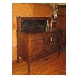 Antique Buffet With Mirror >> Oak Sideboard Buffet Ideas On Foter