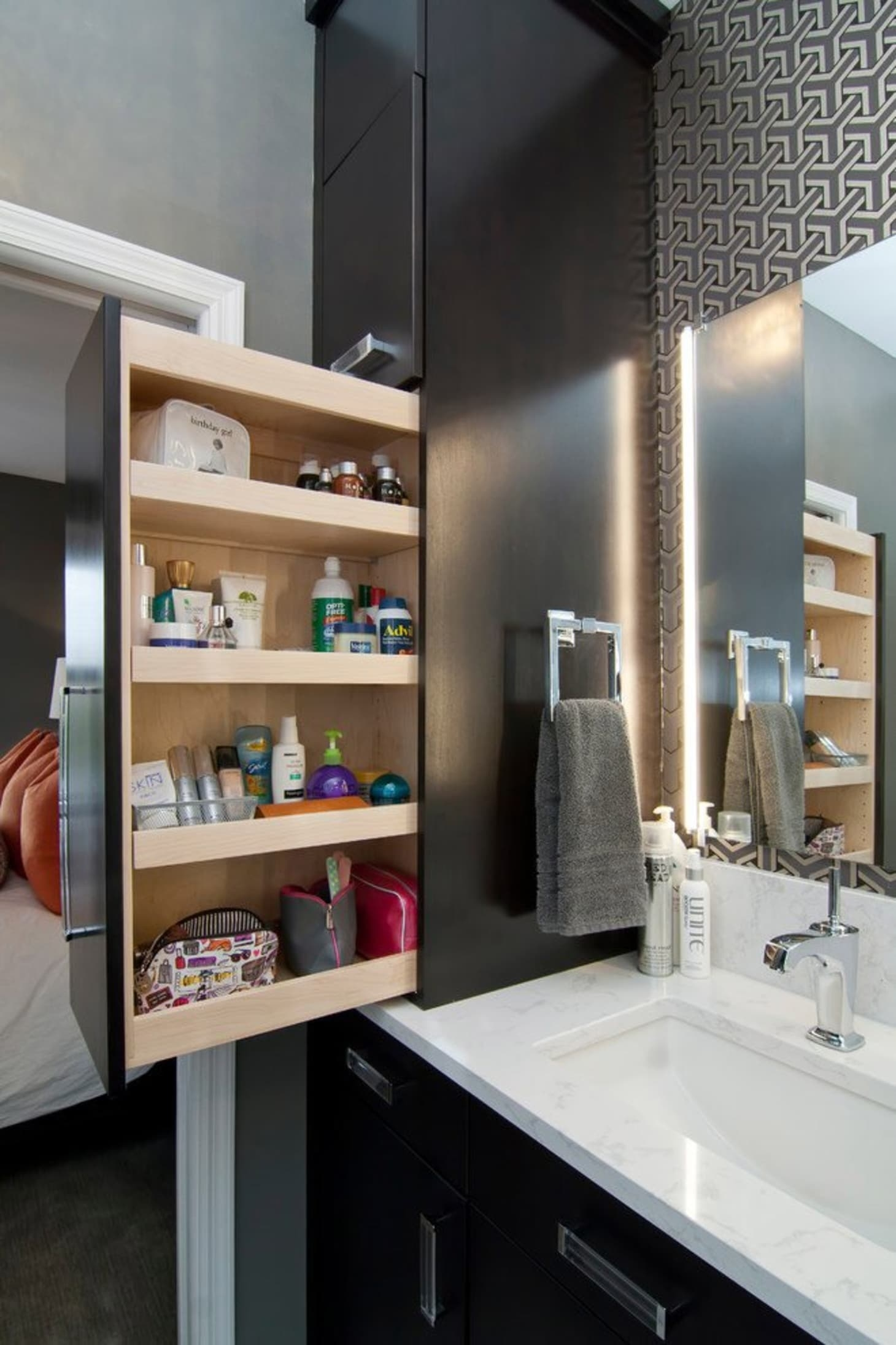 Bathroom Countertop Shelves