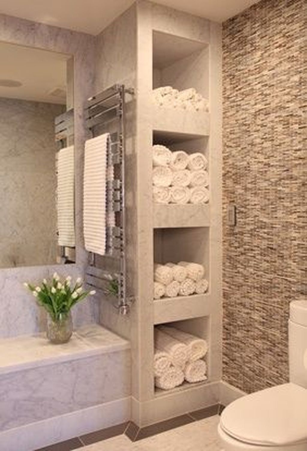 Bathroom Wall Storage Shelves 3