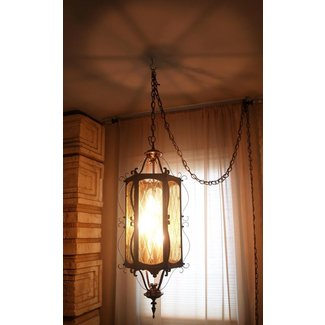 Beautiful 60s vintage hanging lamp mid