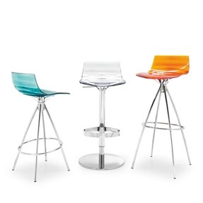 Clear acrylic bar stools 9