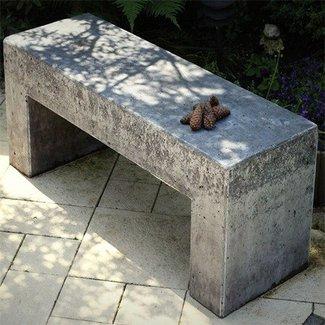 Magnificent Concrete Garden Benches Ideas On Foter Inzonedesignstudio Interior Chair Design Inzonedesignstudiocom