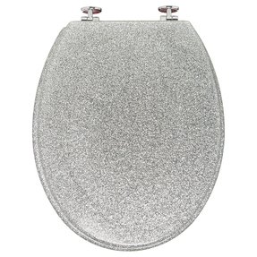 Decorated toilet seats