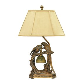 Parrot floor lamp foter parrot floor lamp 27 dimond lighting 91 507 11 by 25 inch twin parrots 2 light traditional mozeypictures Choice Image