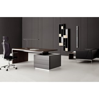 Executive Office Desk Contemporary Desks Other Metro 1