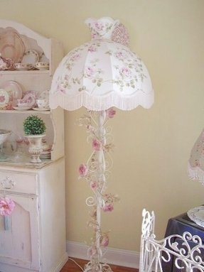 Shabby Chic Floor Lamps Ideas On Foter
