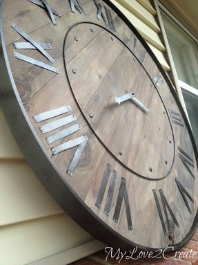 Large clocks wall decor 2
