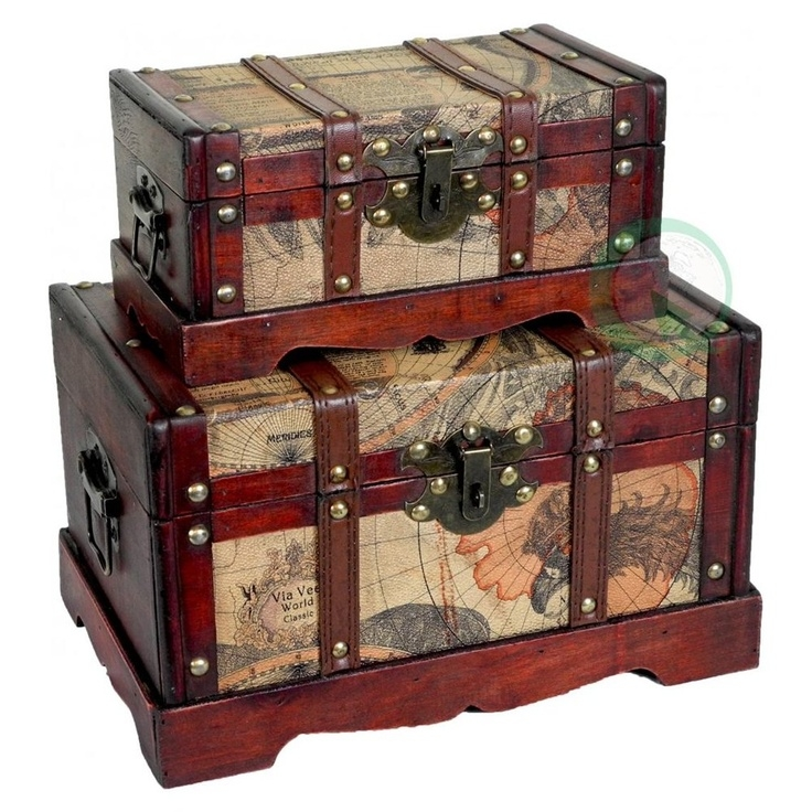 Large decorative storage trunks 8  sc 1 st  Foter & Large Decorative Storage Trunks - Foter