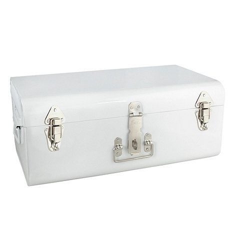 Short on storage opportunities? Create new ones quickly - using a large storage trunk is probably one of the easiest options. This trunk is white ...  sc 1 st  Foter & Large Decorative Storage Trunks - Foter