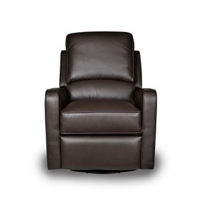 Leather glider recliner 21