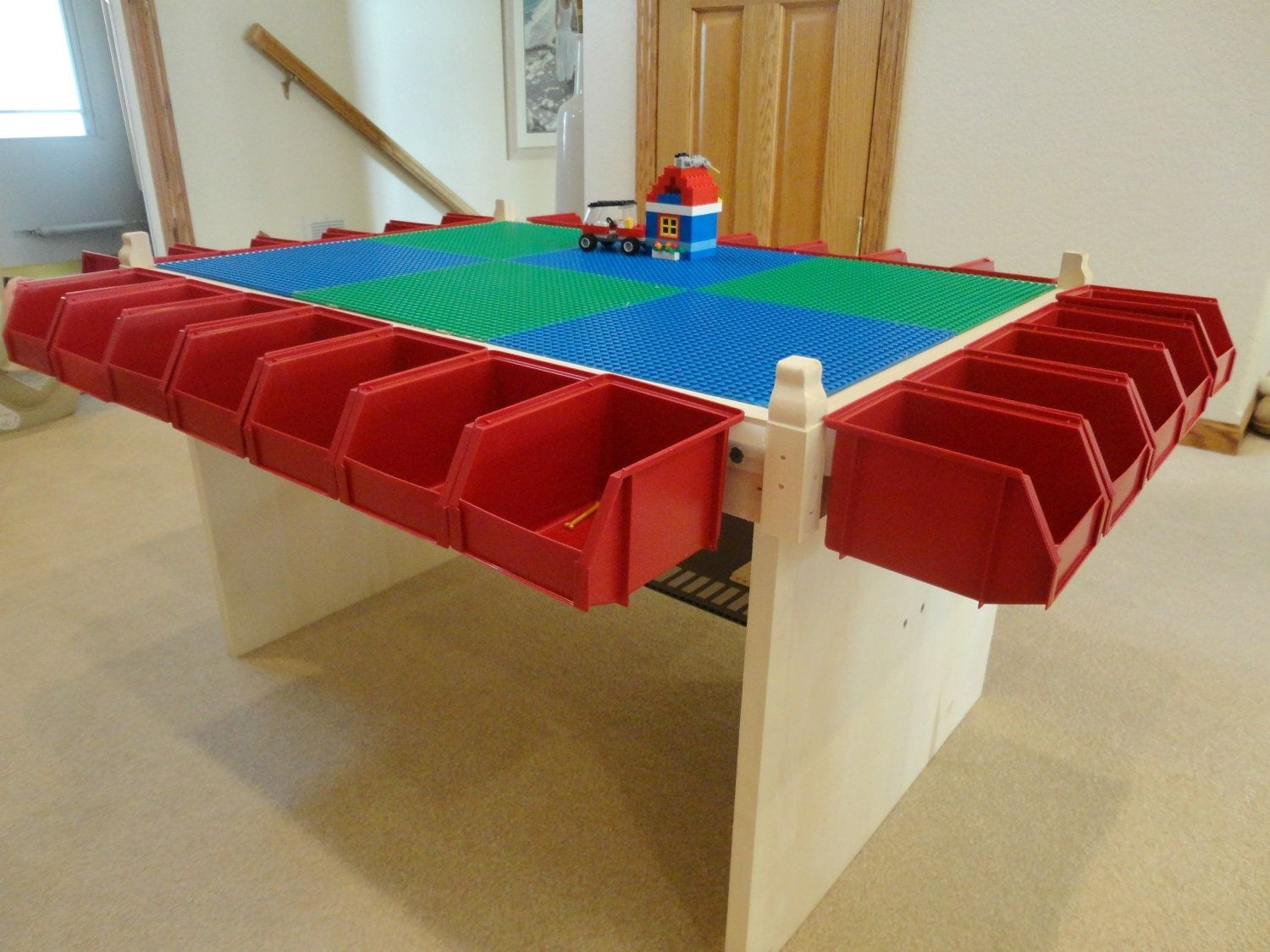 Incroyable Lego Table Kids Play Table Lots Of