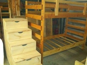 Loft Bed With Storage Steps Foter