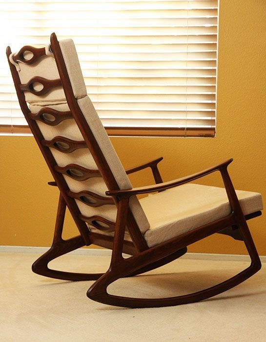 Attirant Modern Baby Rocking Chair 5