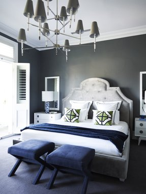 Navy Blue Table Lamp - Ideas on Foter