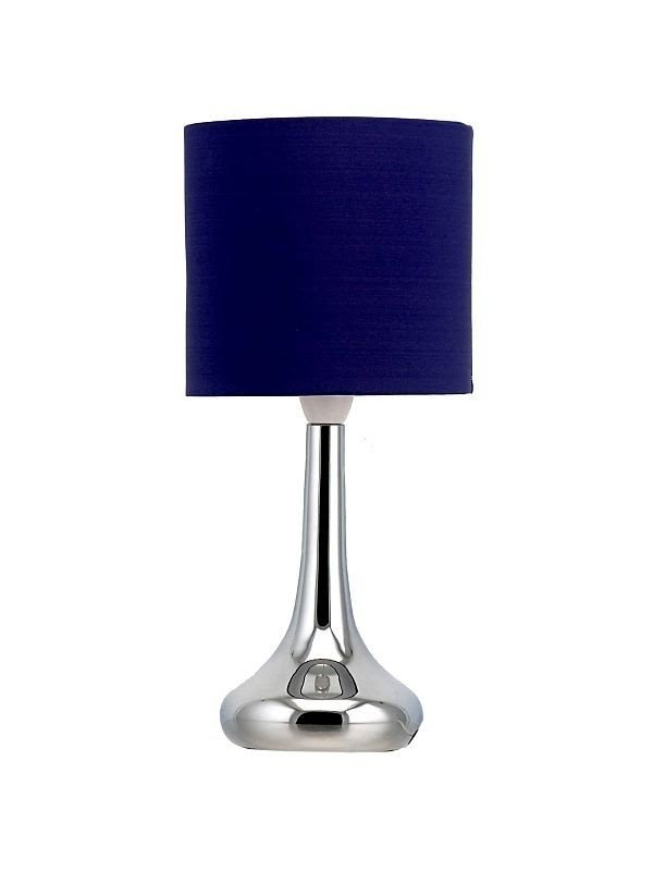 Superieur Navy Blue Table Lamp
