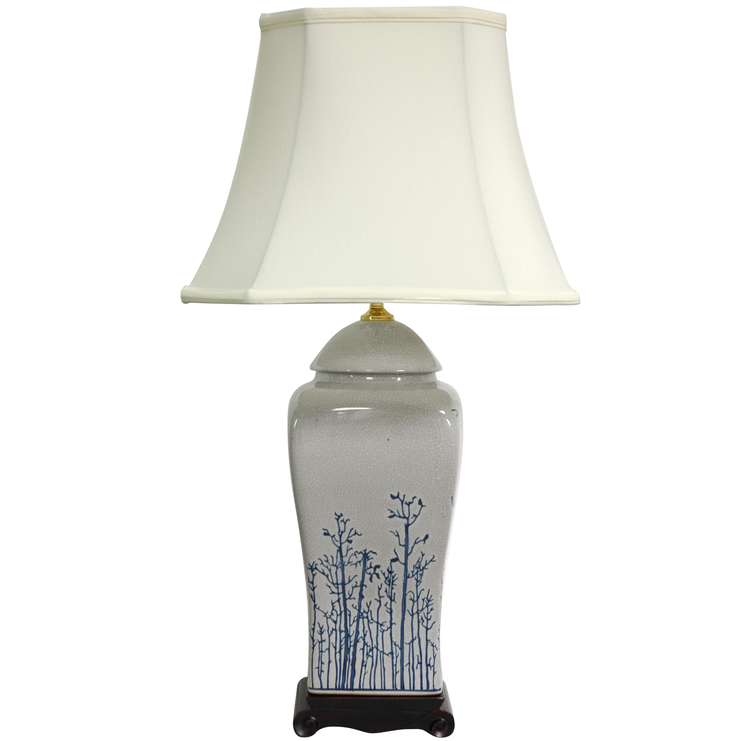 Oriental Furniture Fine Quality Inexpensive Deep Discounts Price Cuts,  26 Inch White Tree Oriental