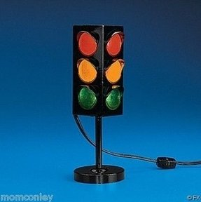 Plastic Mini 3 Sided Party Traffic Light UL Listed