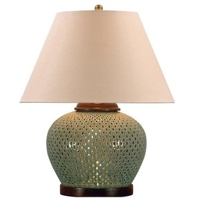 Porcelain table lamps for living room