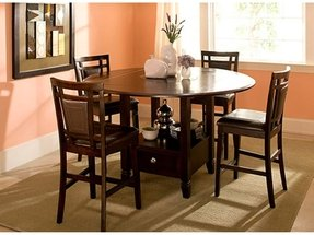 Round Counter Height Kitchen Tables 4