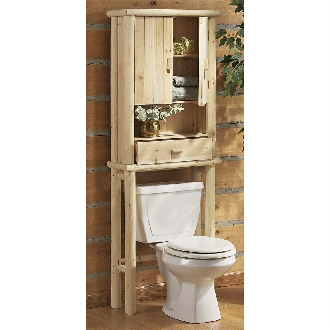 Beau Storage Over Toilet   Ideas On Foter
