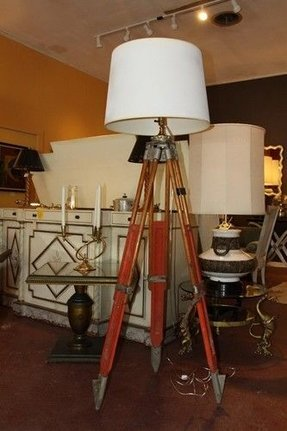 Surveyors Tripod Lamp Ideas On Foter