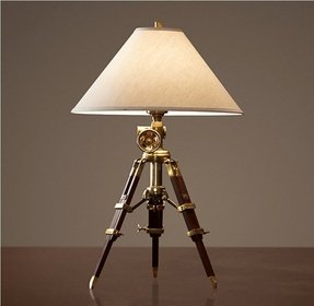 Surveyors tripod lamp 10