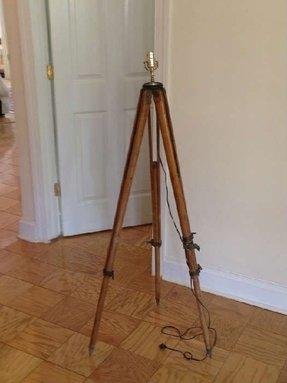 Surveyors Tripod Lamp Foter