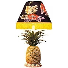 Brass Pineapple Lamp Foter