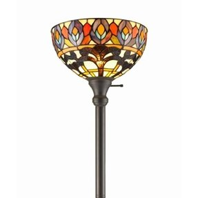 Peacock Floor Lamp Torchiere Floor Lamp Foter