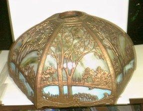 Antique Slag Glass Lamps Ideas On Foter